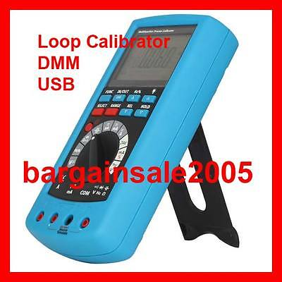 3in1 Instrument PLC Loop Calibrator Signal Source and DMM with USB