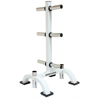 "2"" Olympic Weight/barbell & Bar Stand/tree Chrome 400Kg Plate/disc Gym Rack"