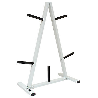 """1"""" Standard Weight/barbell Disc Stand/tree Plate Gym Storage Rack 5 Post Holder"""