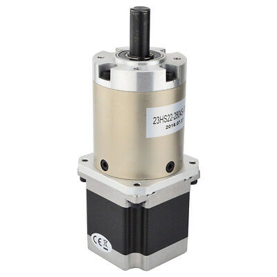 Planetary Gearbox 47:1 Nema 23 Stepper Motor 2.8A for DIY CNC Mill Lathe Router