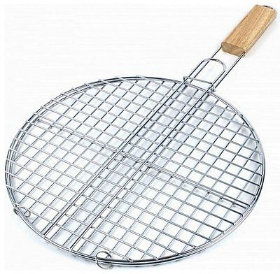 Grille A Barbecue Ronde 40 Cm Metal Cuisine