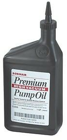 Robinair Premium High Vacuum Pump Oil, Quart NEW  ROB 13203