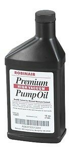 Robinair 13119  Premium High Vacuum Pump Oil - Pint Bottle NEW   FAST SHIPPING!