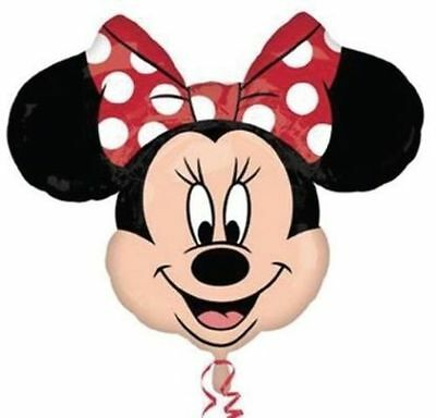 Disney Minnie Mouse Head Foil Helium Balloon Birthday Party Decoration Party
