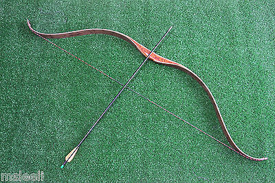50 LB High-class Handmade Laminated Tartar Recurve Bow Archery Hunting UK