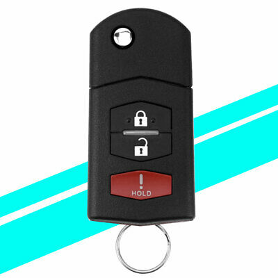 2X Replacement Remote Keyless Entry Key Fob Transmitter Clicker Control Alarm