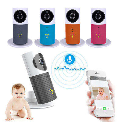 WIFI Wireless Night Vision Camera Baby Care Monitor Security Audio Video 5colors