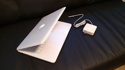 "Apple MacBook White 13"" a1342. 250GB HDD  2.26 GHz New 8GB Ram WebCam, LATEST OS"
