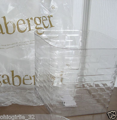 Plastic Protector for Longaberger Tall Tissue Basket