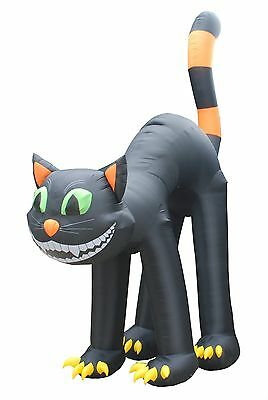 20 FOOT Jumbo Party Halloween Inflatable Black Cat Yard Decoration Prop Balloon