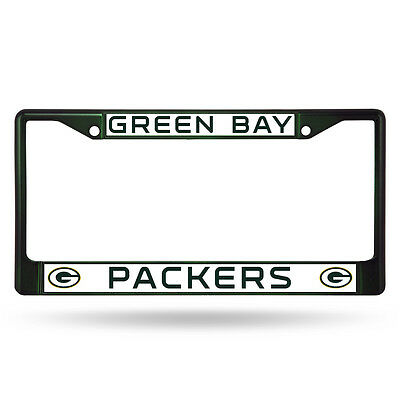 Green Bay Packers Green Metal License Frame [NEW] NFL Auto Car Truck Plate Steel