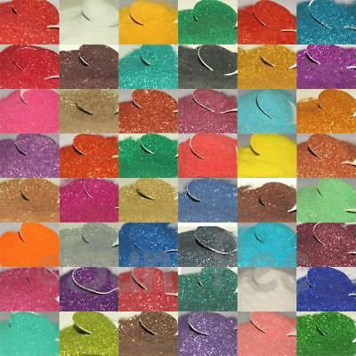 Sparkle Fine Fairy Glitter Dust Cards Scrapbook Nail Art Crafts Body 5-50g DIY