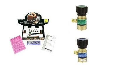 Smith Little Torch 23-1001D American Fitting Gentec Regulator Gas & Oxygen Combo