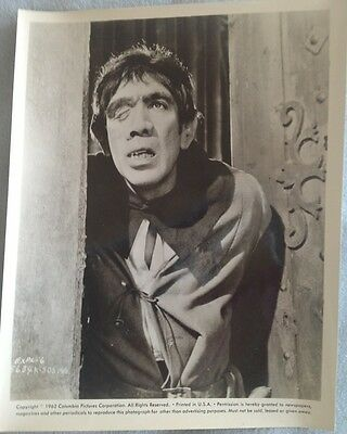 The Hunchback Of Notre Dame (1962) Original Movie Press Lobby Card Anthony Quinn