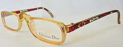 VTG DIOR EyeGlasses GLASSES Lunette Brille 2356 Beige Frame READING Spectacle