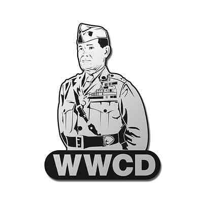 What Would Chesty Puller Do? WWCD USMC Veteran Window Sticker Decal