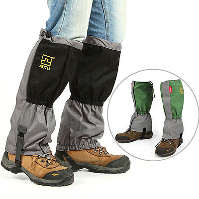 2pcs Waterproof Outdoor Hiking Walking Climbing Hiking Snow Leg Legging Gaiters