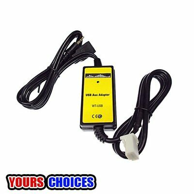 For Toyota Camry/CorollaCar USB Aux-in Adapter MP3 Player OEM Radio Interface