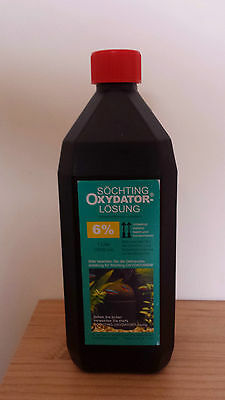 Söchting Oxydator - Increase Oxygen in Aquariums - 1 litre Refill Solution 6% • EUR 15,89