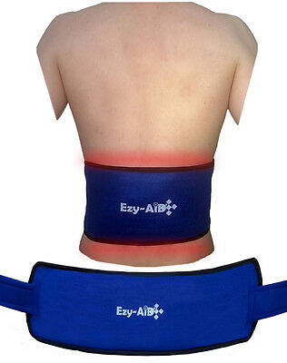 Ezy Compress Wrap For BACK / Body, Reusable Cuff with Ice or Hot Cold Gel Pack