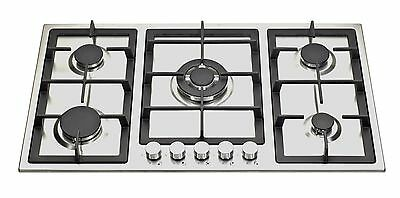 Z S95005H 90cm Built-in 5 Burner Stainless Steel Gas Hob/Cooktop with FFD