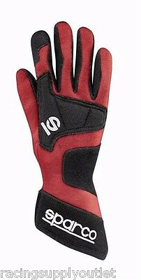 Sparco Wind SFI Racing Gloves Red X-Large