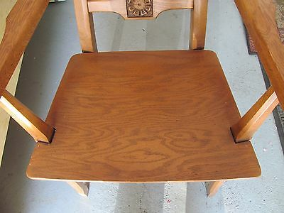 Vtg SET Adrian Pearsall Style High Back Danish Modern Dining Chairs Mid Century