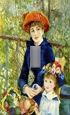 Light Switch Plate & Outlet Covers RENOIR ~ TWO SISTERS