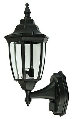 LED Highgate 240v E27 IP44 Traditional Antique  Wall Coach Light Black