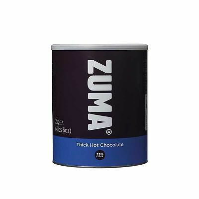 Zuma Thick Hot Chocolate & White Hot Chocolate 2KG Tins (Select from the menu)