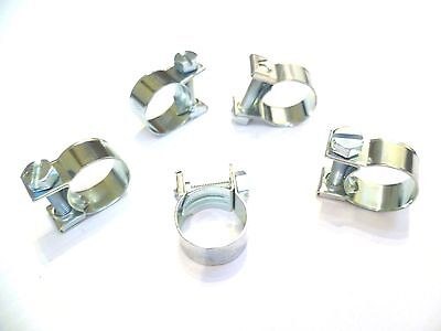 HOSE PIPE CLAMPS - MINI T BOLT  - SMALL DIAMETER - 6mm To 17 mm - Buy 3 To 100