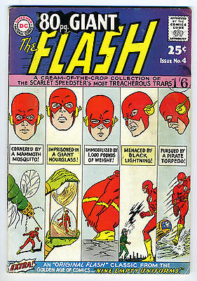 The Flash (Giant) #4 VG 4.5
