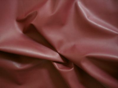 BURGUNDY Smooth cowhide For furnishing, bags & shoes BARKERS LEATHER & HIDE N229