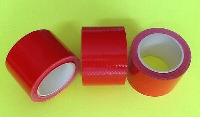 3 Rolls Polyken Duct Tape 1.5 x 5 yds Prepper Survival Emergency Bug Out Bag