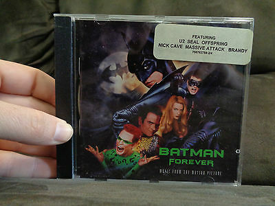 BATMAN FOREVER_Soundtrack_used CD_ships from AUSTRALIA_A33