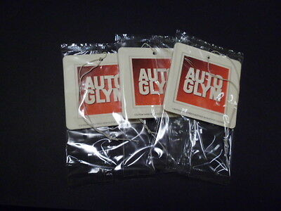 Autoglym Hanging Air Freshener Brand New Sealed X 3