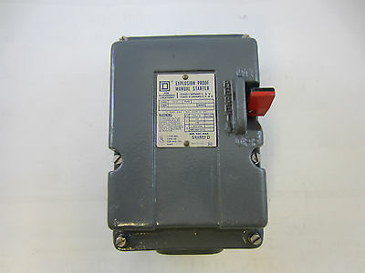 Square D 2510-Mcr3 Size M-1 Explosion Proof Manual Starter 3 Phase