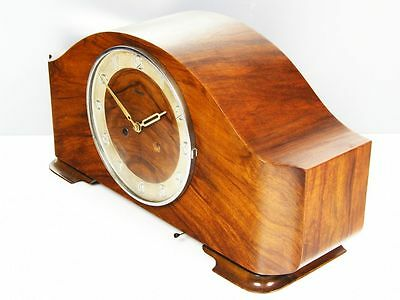 Pure Beautiful Pure  Art Deco  Kienzle   Chiming Mantel Clock