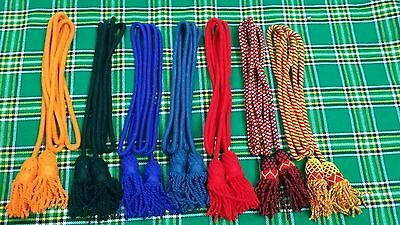 HW Army Bugle Wool Cord Various Colors/Bb Bugle Cord/British Bugle Cord Wool