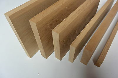 Solid Oak Timber - 25mm - choice of lengths and widths