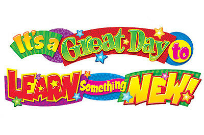 It's a great day to learn…10ft Classroom School Display Banner