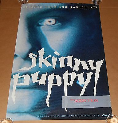 Skinny Puppy Cleanse Fold and Manipulate Poster Original Promo 36x24