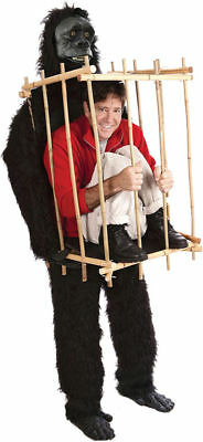 Morris Costumes Men's Plastic Get Me Outta This Cage One Size. VA1001