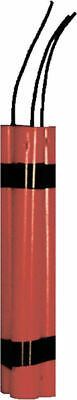 Morris Costumes Three Durable Red Plastic Dynamite Sticks Toy Prop. 12051