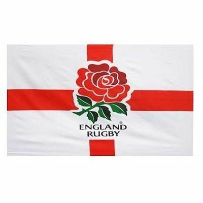 5ft x 3ft England Rugby World Cup Flag Polyester RFu Crest Flag