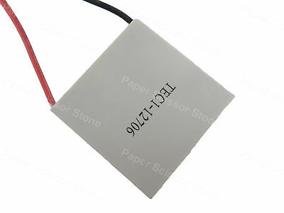 TEC 12706 12V 40mm X 40mm X 3.75mm Thermoelectric Cooler Cooling Peltier Plate