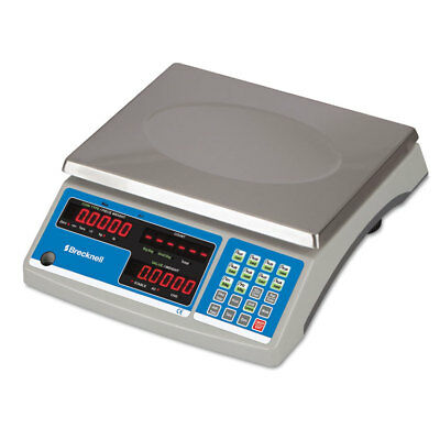 Electronic 60lb Coin & Parts Counting Scale, 11 1/2 x 8 3/4, Gray