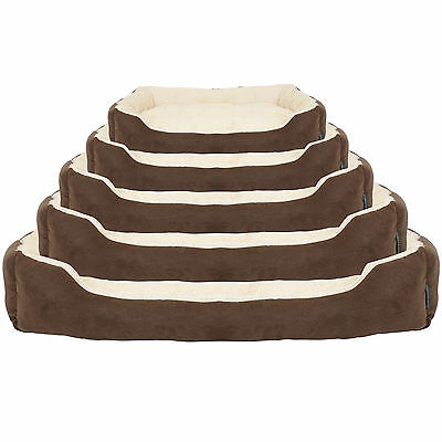 Thoroughbeds Luxury Soft Dog/puppy Pet Bed Cosy/fleece/warm Cushion S/m/l/xl/xxl