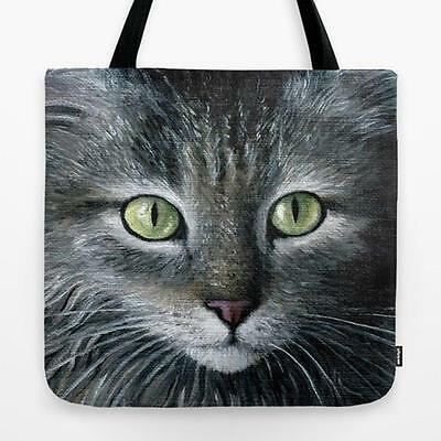 Tote Bag All over print Made in USA Cat 478 from art painting by L.Dumas