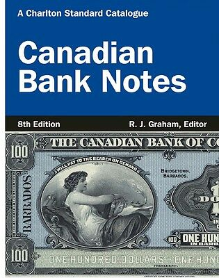 SALE Charlton Catalogue of Chartered Canadian Bank Notes 8th Edition